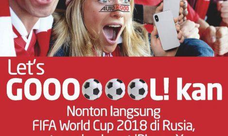 Nonton Langsung FIFA World Cup 2018 di Rusia