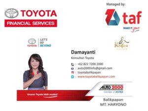 Paket Kredit Toyota Balikpapan